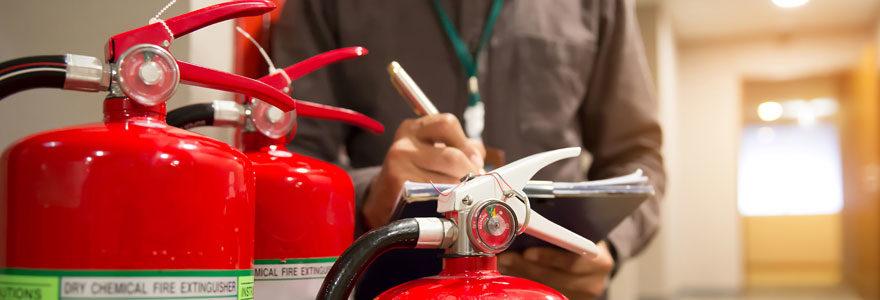 matériel anti incendie